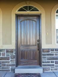 Exterior Wood Door Manufacturers Best Fiberglass Entry Doors Exterior Vs Wood Door Cost With