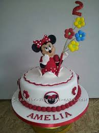 minnie mouse cakes coolest minnie mouse birthday cake
