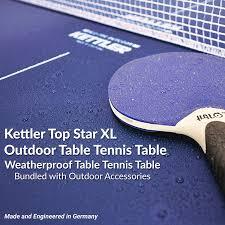 kettler heavy duty weatherproof indoor outdoor table tennis table cover amazon com kettler top star xl weatherproof table tennis table