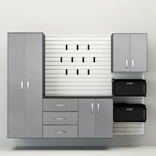 Electronics Storage Cabinet 5pc Deluxe Cabinet Set White Platinum Carbon