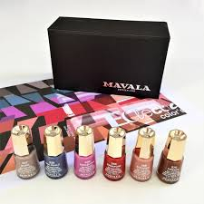 product review mavala sensation lipstick collection and eclectic
