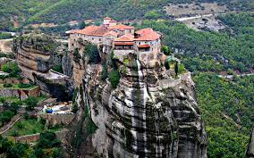 Meteora Greece Map by Other Excursions Destinations