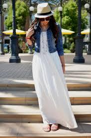 long summer dress with jean jacket naf dresses