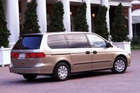 2003 honda odyssey minivan 1999 04 honda odyssey consumer guide auto