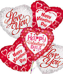 valentines day baloons s day mylar balloon bouquet flowersforyou