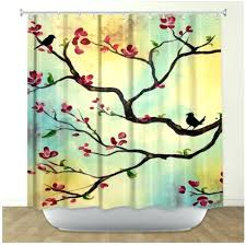 Wide Fabric Shower Curtain Shower Curtains Fabric Teawing Co