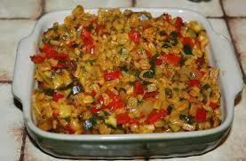 cuisiner des courgettes à la poele poêlée de blé aux poivrons et courgettes mimi végétale