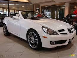 Mercedes Benz Interior Colors 2010 Designo Mystic White Mercedes Benz Slk 300 Diamond White