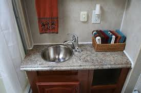 Acorn Bathroom Furniture Acorn To Oak Rv Bathroom Makeover