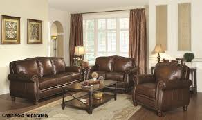 Spencer Leather Sectional Living Room Furniture Collection Furniture Complete Your Living Room Decor By Using Klaussner