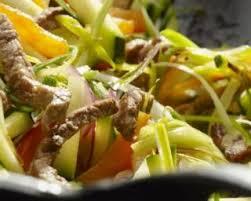 recette cuisine wok recette de wok de boeuf aux légumes à l asiatique