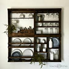 Pottery Barn Kitchen Hutch by Pottery Barn Inspired Cubby Shelf Modular Sawdust 2 Stitches