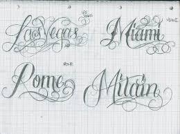 tattoo lettering city u0027s 28 by 12kathylees12 on deviantart