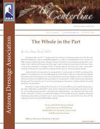 ada august 2016 centerline by arizona dressage association issuu
