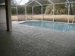 pool deck spray textures decorative concrete experts