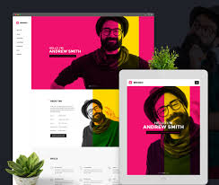 30 best vcard wordpress themes 2018 for your online resume colorlib