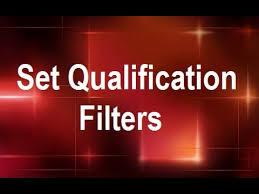 graphic design online qualification microstrategy set qualification filters online training video by
