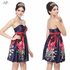 popular floral print cocktail dress party buy cheap floral print