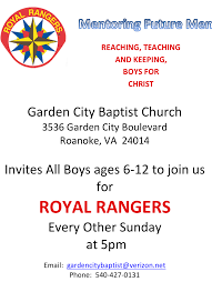 Family Ministries Garden City Ks Garden City Baptist Church Ministries Royal Rangers