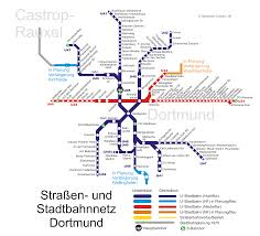 Essen Germany Map by Stadtbahn Dortmund Metro Map Germany