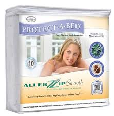 bed bug mattress and box spring encasements protect a bed allerzip smooth bed bug proof mattress encasements