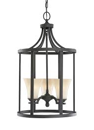 Large Foyer Lantern Chandelier 51375 839 Three Light Hall Foyer Blacksmith