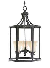 Chandeliers For Foyer 51375 839 Three Light Hall Foyer Blacksmith
