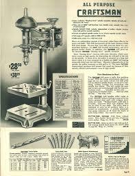 free shop manual articles 1940 sears craftsman power tools catalog