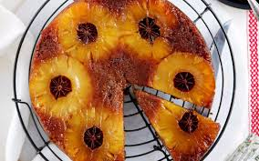 star anise and pineapple upside down cake recipe food to love
