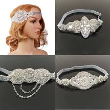 1920s hair accessories gatsby hair accessories for women s 1920 s style ebay