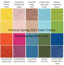 mint green pantone pantone s 2017 color trends bead world