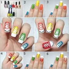 diy nail art blue picture u2013 easy nail art