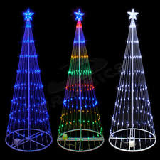 9 foot 3d led showmotion cone shape mini light tree 100shtree9