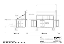 exle of floor plan drawing marvelous single storey house plans uk ideas best inspiration home