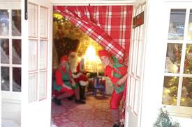 Outdoor Father Christmas Decorations Uk by Children Can Visit Father Christmas At Outdoor Grotto Opening In
