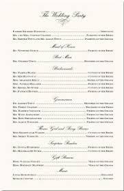 wedding program cover wording wedding program sles and wedding program wordings ceremony