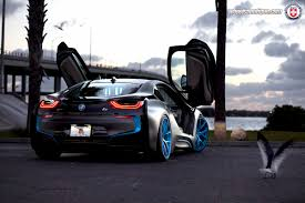 Bmw I8 O 60 - i8 with hre p101 wheels by wheels boutique
