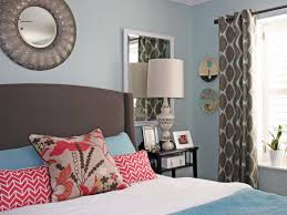 bedroom wall combination painting blue bedrooms colors paint ideas
