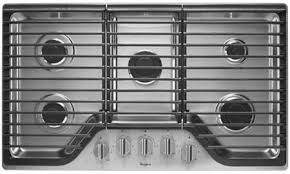 Whirlpool Induction Cooktop 36 Whirlpool Wcg51us6ds 36 Inch Gas Sealed Burner Style Cooktop In