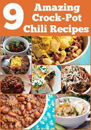 9 amazing crock pot chili recipes crock pot ladies