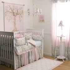 Grey And Pink Nursery Decor by Bedroom Beautiful White Shade Floor Lamp And Grey Furry Rug Also