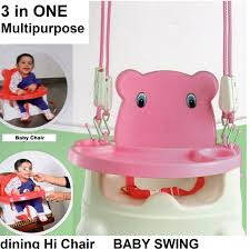 Baby Electric Swing Chair Buy Trugoods Baby Booster Seat Swing Multipurpose Kids Feeding