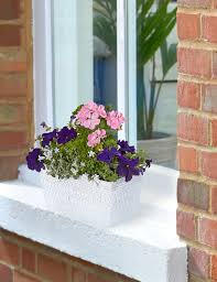 Window Sill Planter by Victoriana Flowering Windowsill Planter M U0026s
