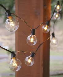 light bulb string lights light bulb string lights globe light bulb g50 7w130v e12 base clear