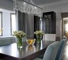 Exellent Contemporary Crystal Dining Room Chandel Chandeliers Home - Crystal chandelier dining room