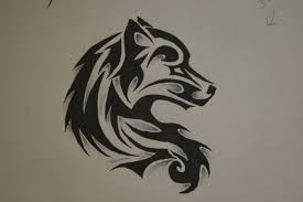 tribal wolf tattoo by forever broken92 on deviantart