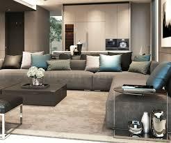 coussin sur canap gris le canapé d angle pour votre salon