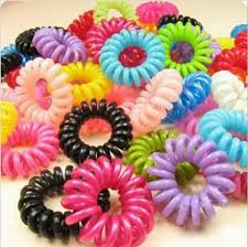 ponytail holders telephone cord elastic ponytail holders hair ring scrunchies for