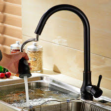 senlesen oil rubbed bronze kitchen faucet single handle hole