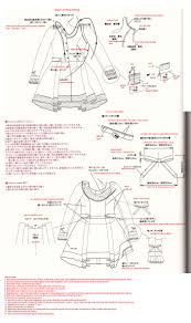 Books On Sewing Clothes Translation Request U2013 A Doll U0027s Dress Pattern Japanese Sewing